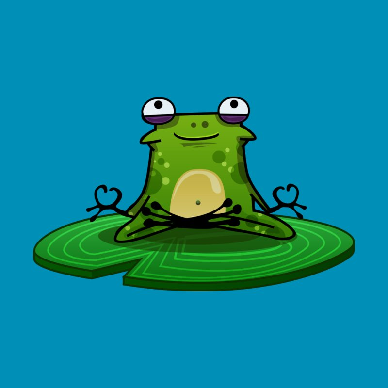 Sensei the Frog Home Fine Art Print by mikibo's Shop
