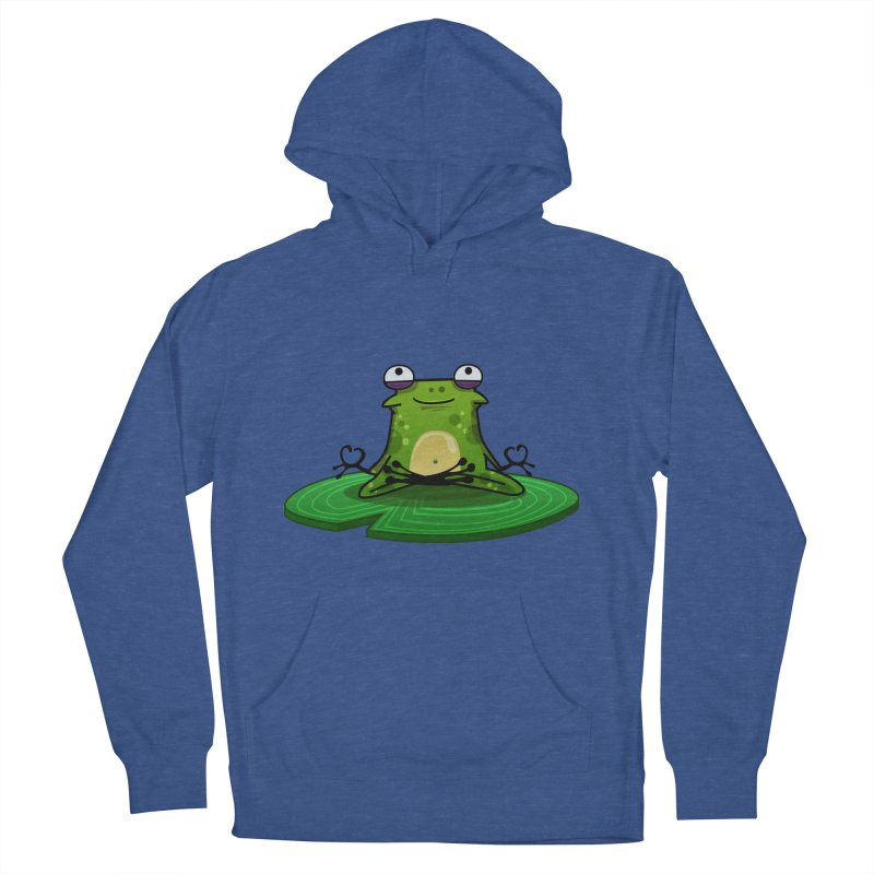 Sensei the Frog Women's French Terry Pullover Hoody by mikibo's Shop