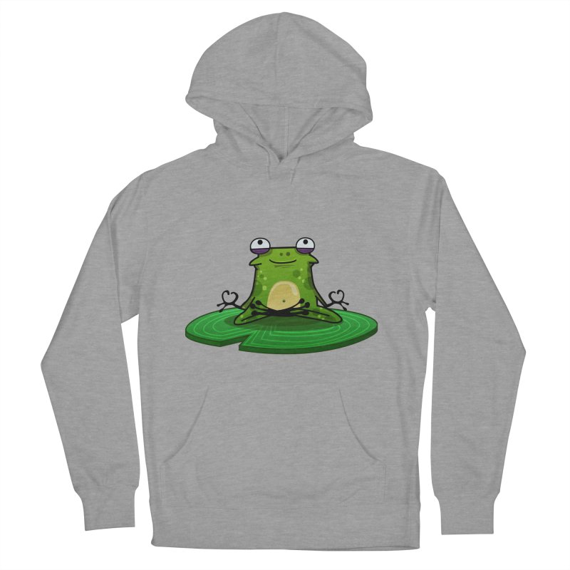 Sensei the Frog Men's Pullover Hoody by mikibo's Shop