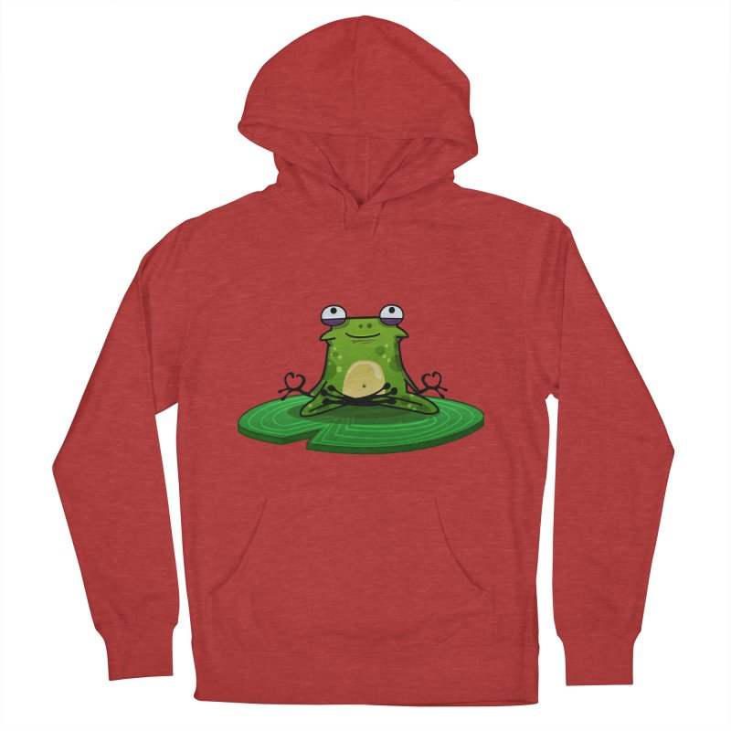 Sensei the Frog Men's French Terry Pullover Hoody by mikibo's Shop