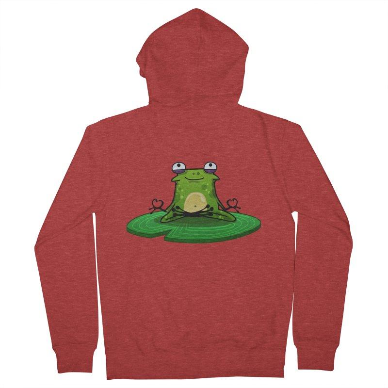 Sensei the Frog Women's Zip-Up Hoody by mikibo's Shop