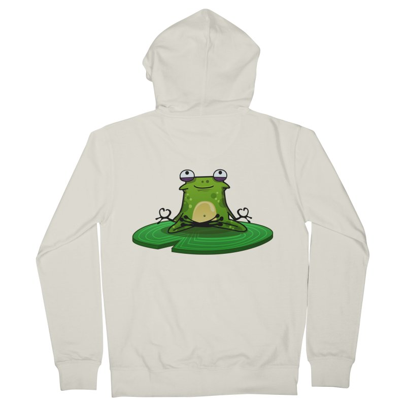 Sensei the Frog Women's Zip-Up Hoody by mikibo's Shop