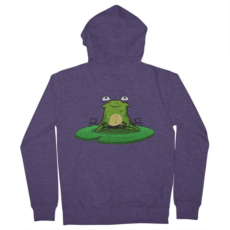 Sensei the Frog Men's Zip-Up Hoody by mikibo's Shop