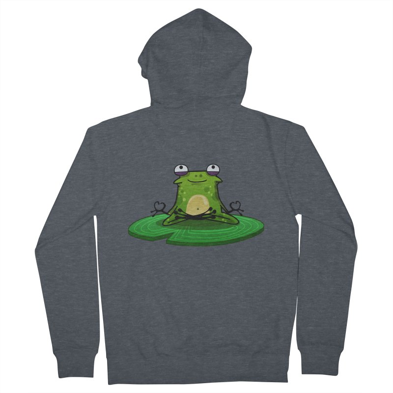 Sensei the Frog Men's Zip-Up Hoody by mikibo's Shop