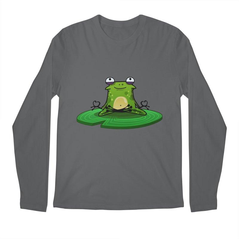 Sensei the Frog Men's Longsleeve T-Shirt by mikibo's Shop