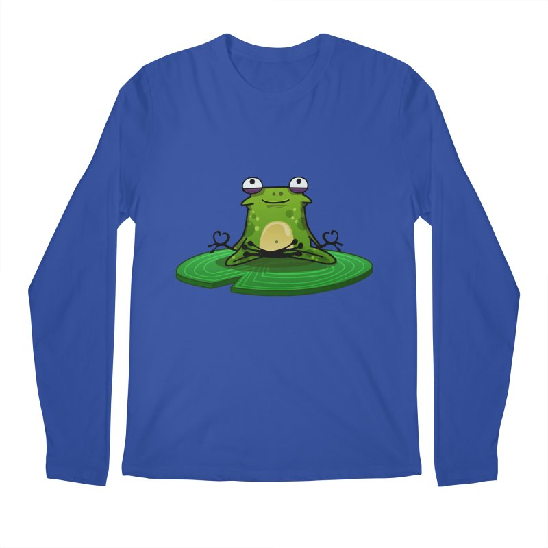 Sensei the Frog Men's Longsleeve T-Shirt by mikibo's Shop