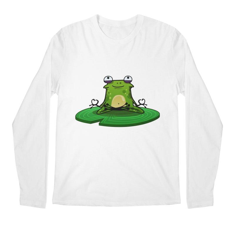 Sensei the Frog Men's Regular Longsleeve T-Shirt by mikibo's Shop