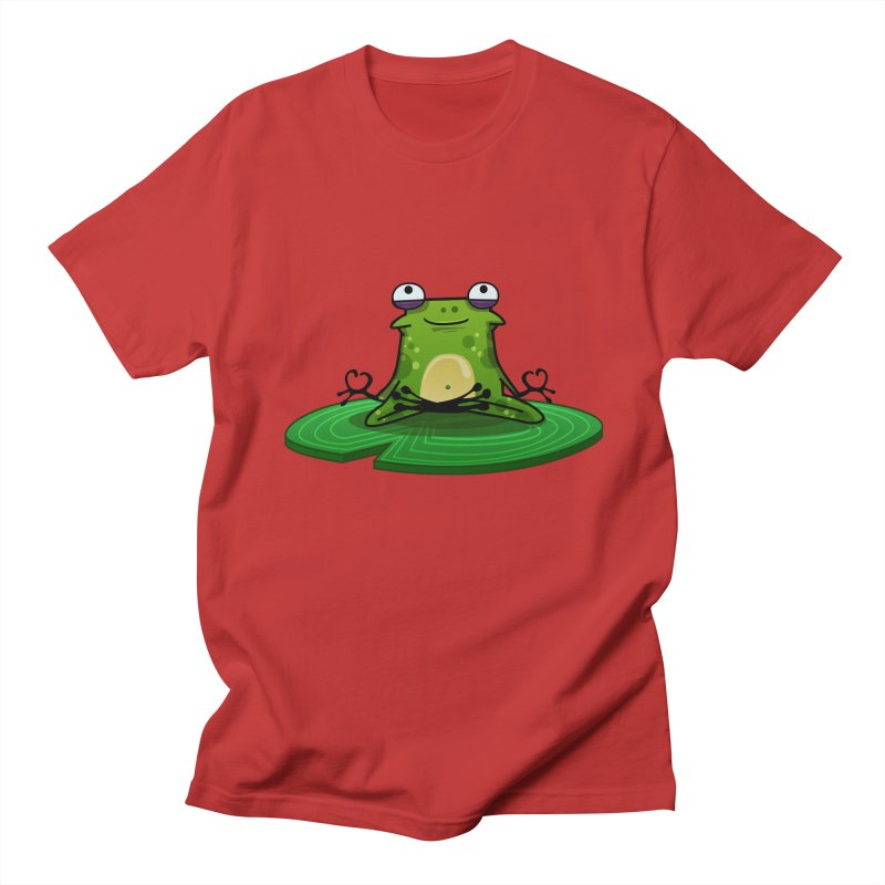 Sensei the Frog Men's Regular T-Shirt by mikibo's Shop