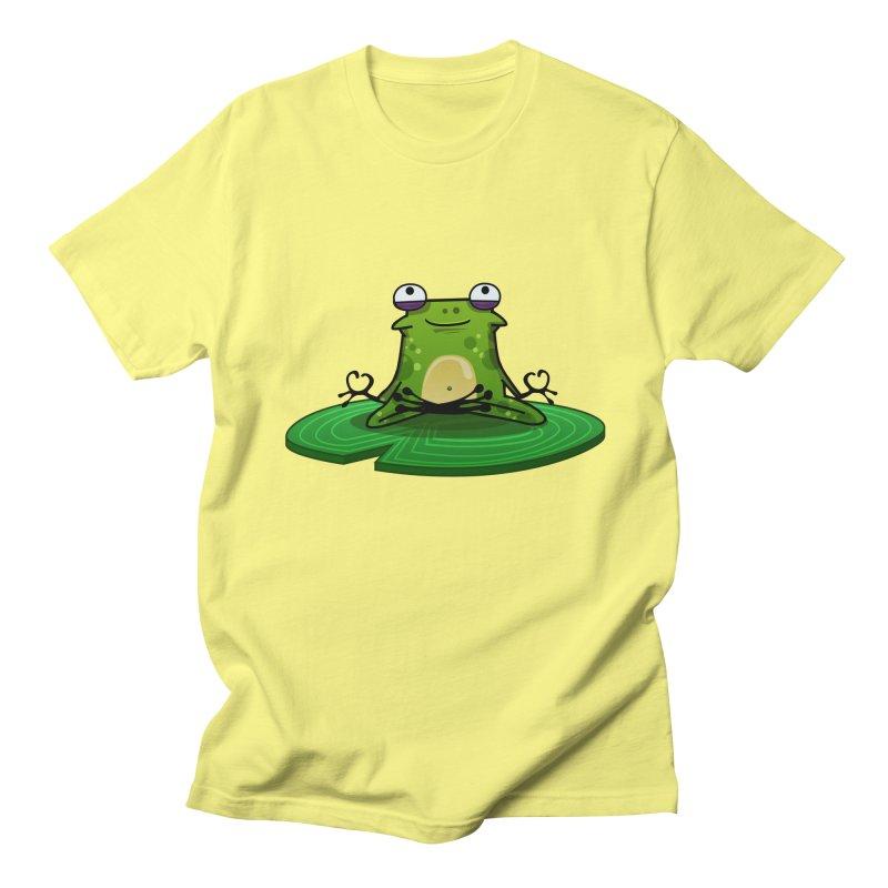 Sensei the Frog Men's Regular T-Shirt by mikibo's Shop