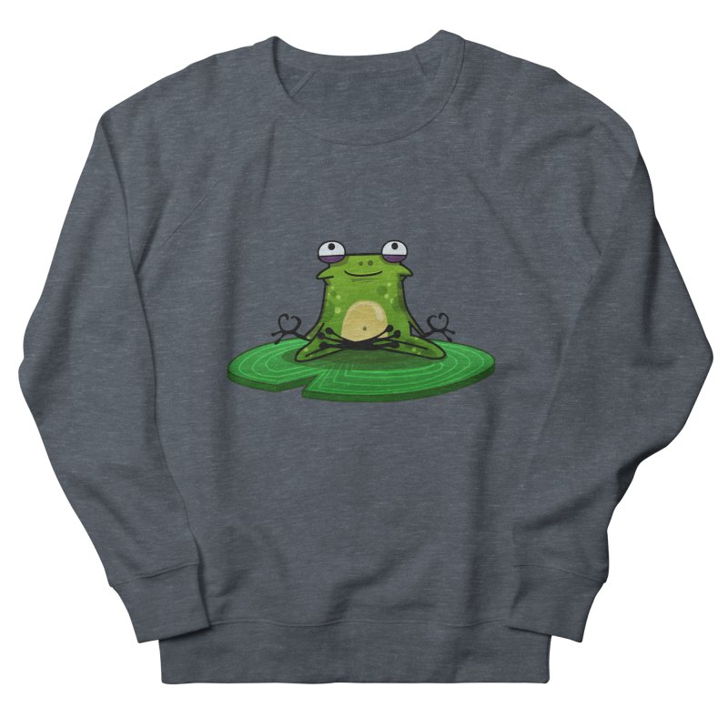 Sensei the Frog Women's French Terry Sweatshirt by mikibo's Shop