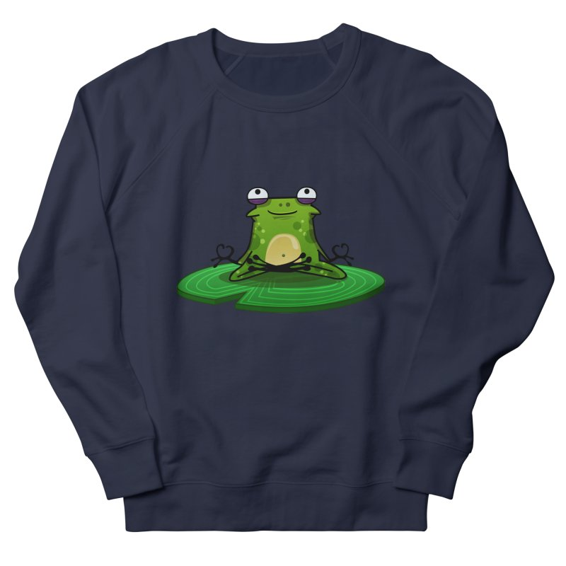 Sensei the Frog Men's French Terry Sweatshirt by mikibo's Shop