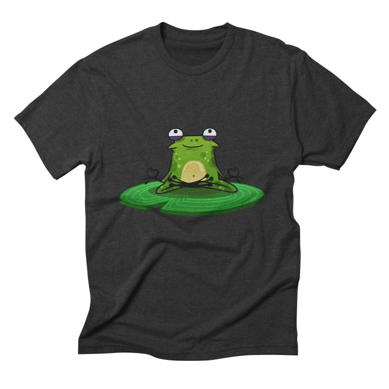 Sensei the Frog Men's Triblend T-shirt by mikibo's Shop