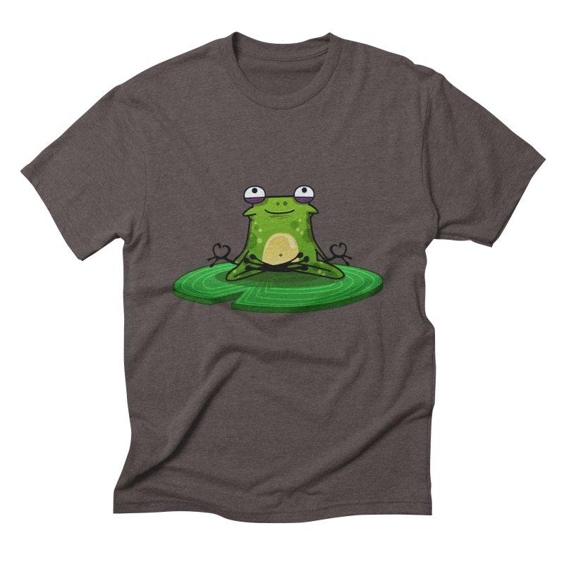 Sensei the Frog Men's Triblend T-Shirt by mikibo's Shop