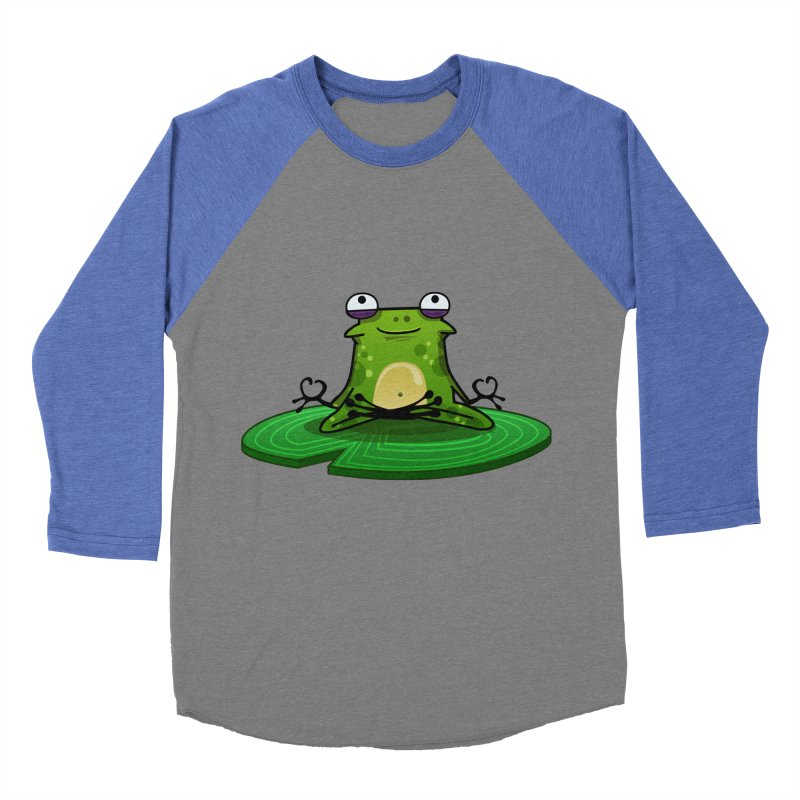 Sensei the Frog Women's Baseball Triblend Longsleeve T-Shirt by mikibo's Shop