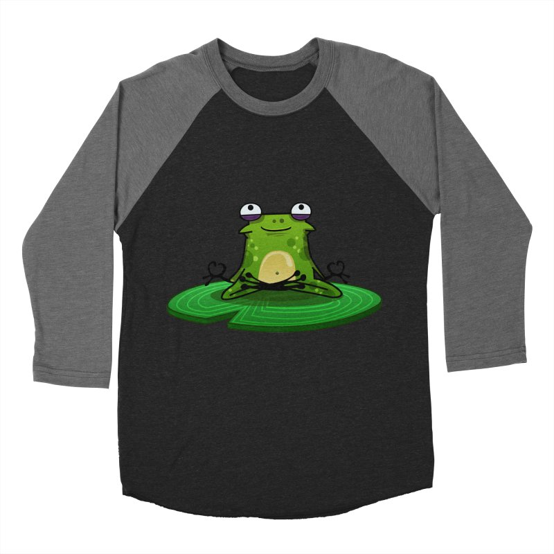 Sensei the Frog Women's Baseball Triblend T-Shirt by mikibo's Shop