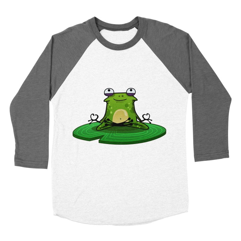 Sensei the Frog Men's Baseball Triblend Longsleeve T-Shirt by mikibo's Shop