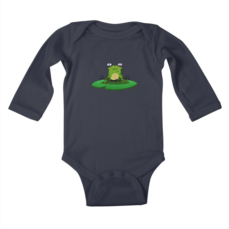 Sensei the Frog Kids Baby Longsleeve Bodysuit by mikibo's Shop