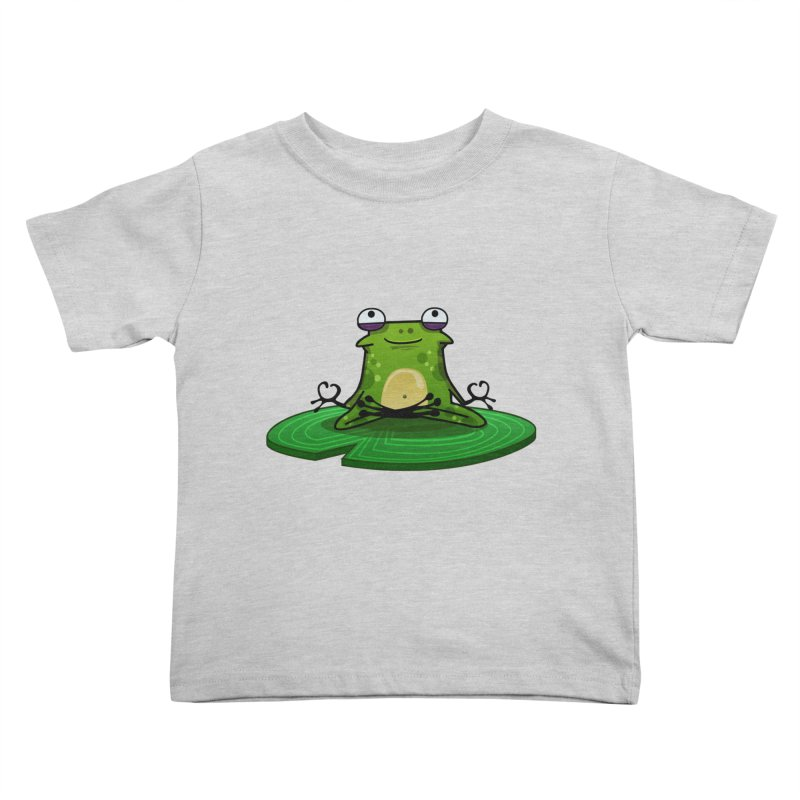 Sensei the Frog Kids Toddler T-Shirt by mikibo's Shop