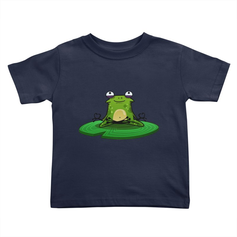 Sensei the Frog Kids Toddler T-Shirt by mikibo's Shop
