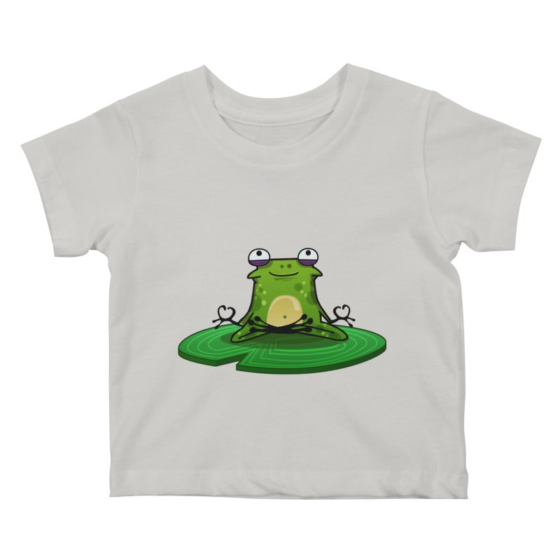 Sensei the Frog Kids Baby T-Shirt by mikibo's Shop