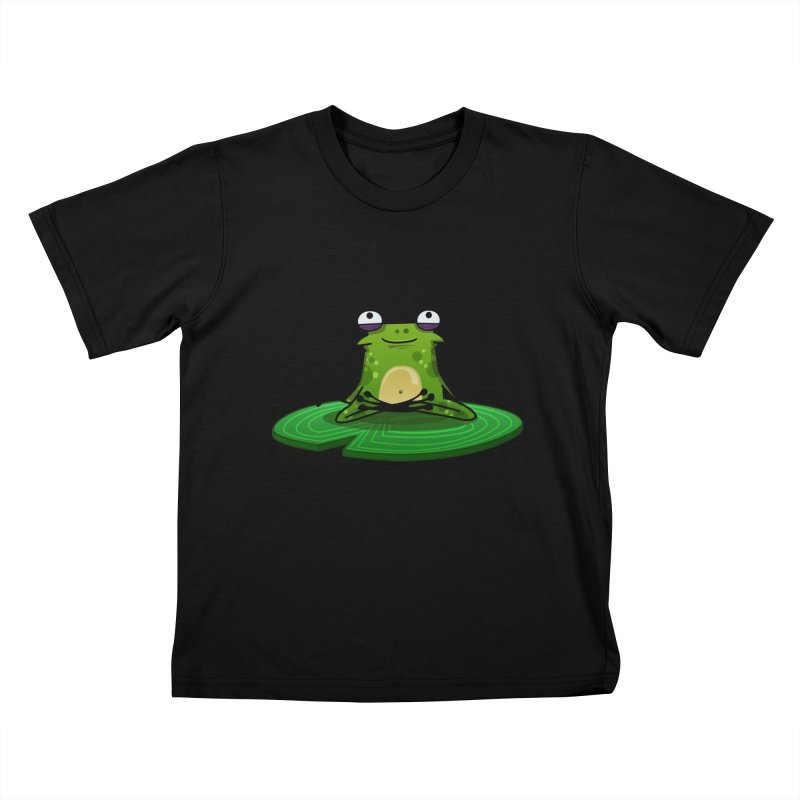 Sensei the Frog Kids T-shirt by mikibo's Shop