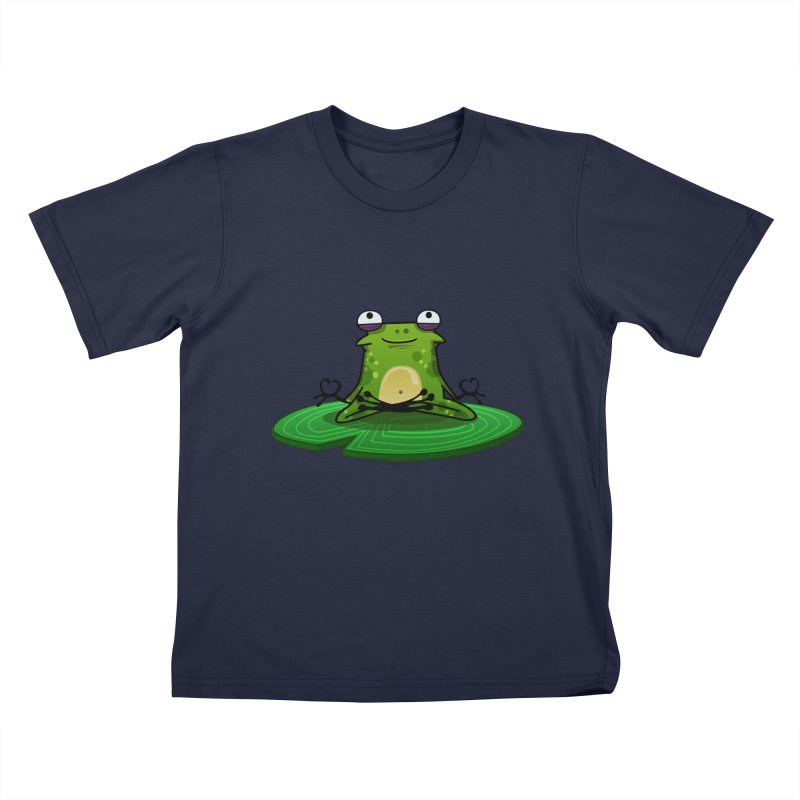 Sensei the Frog Kids T-Shirt by mikibo's Shop