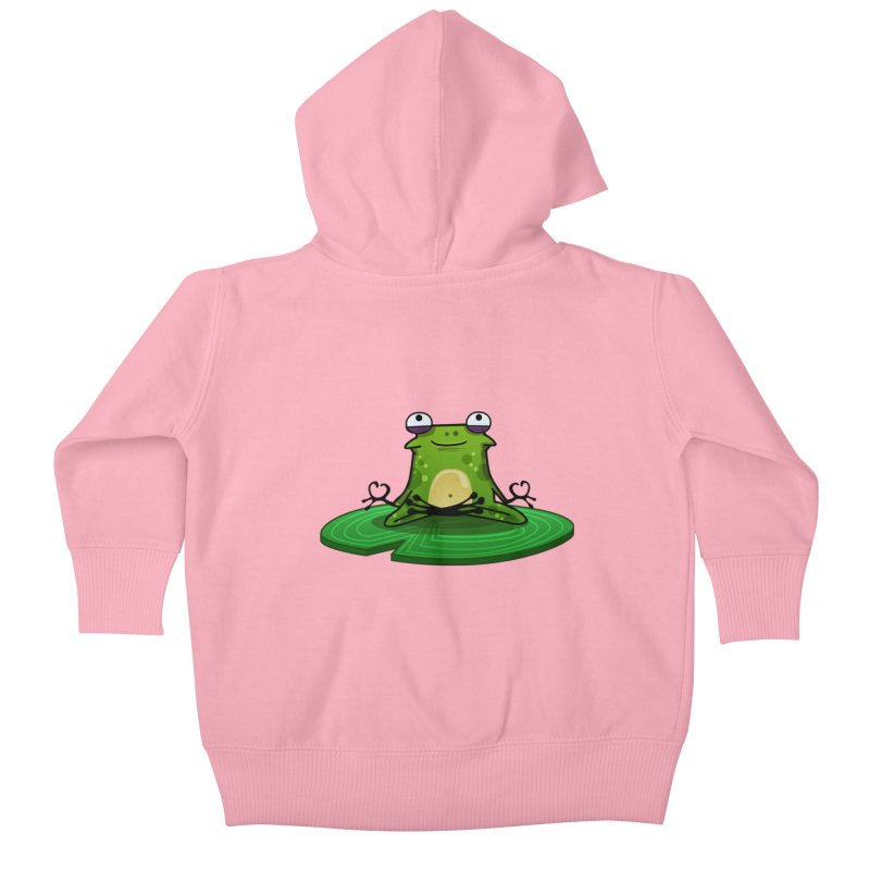 Sensei the Frog Kids Baby Zip-Up Hoody by mikibo's Shop