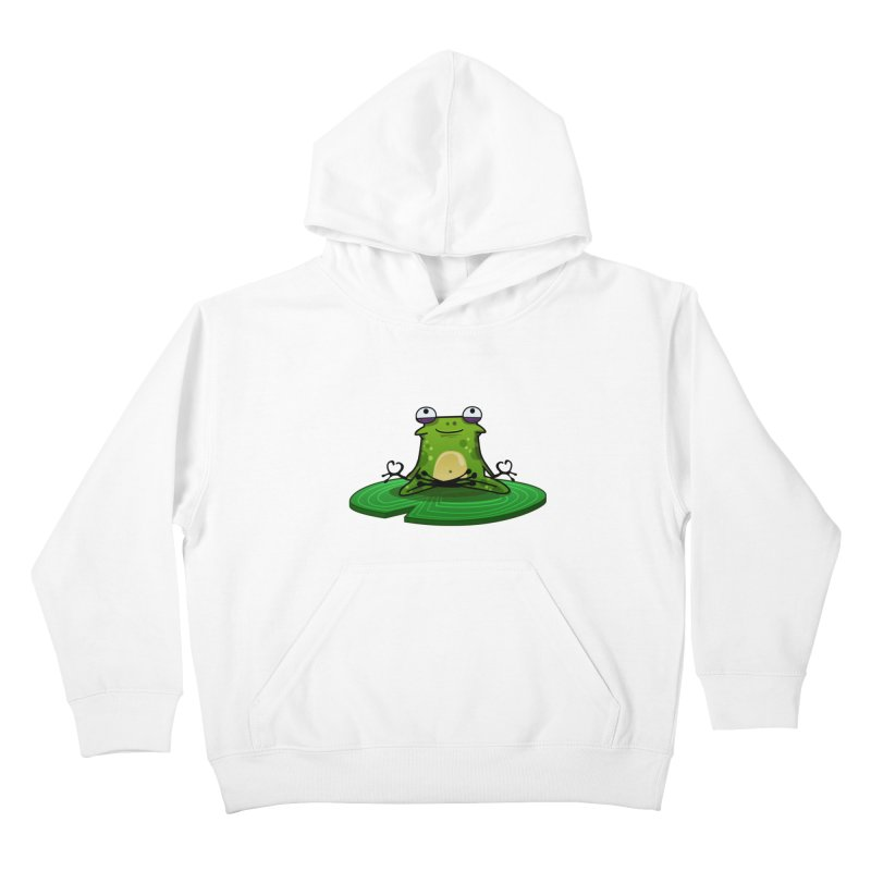 Sensei the Frog Kids Pullover Hoody by mikibo's Shop