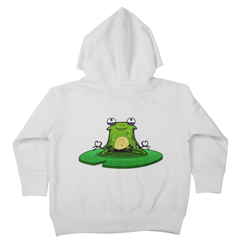 Sensei the Frog Kids Toddler Zip-Up Hoody by mikibo's Shop