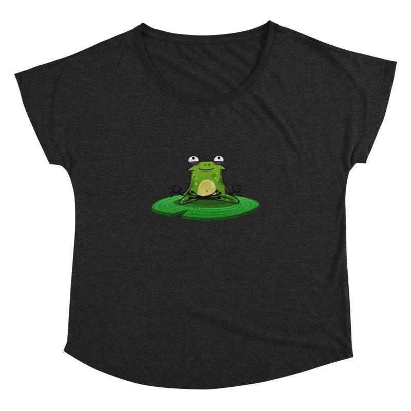 Sensei the Frog Women's Dolman by mikibo's Shop