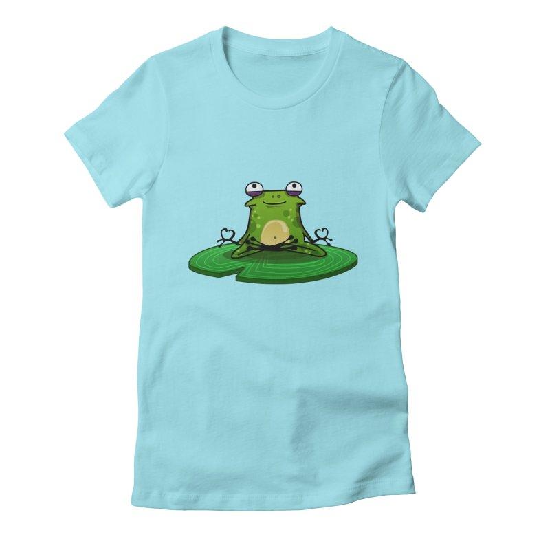 Sensei the Frog Women's T-Shirt by mikibo's Shop