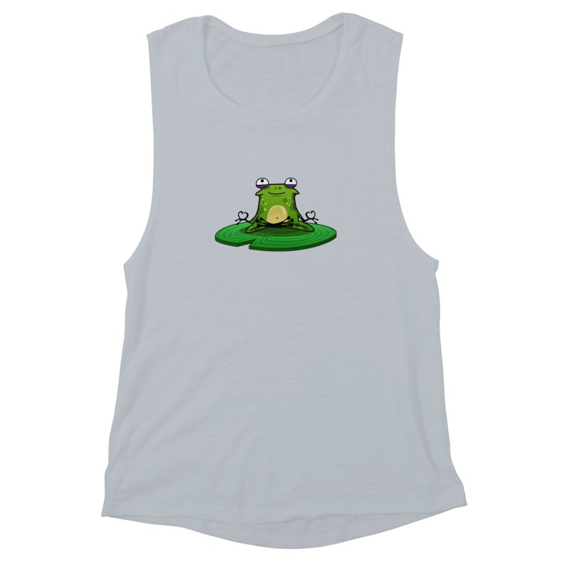 Sensei the Frog Women's Muscle Tank by mikibo's Shop