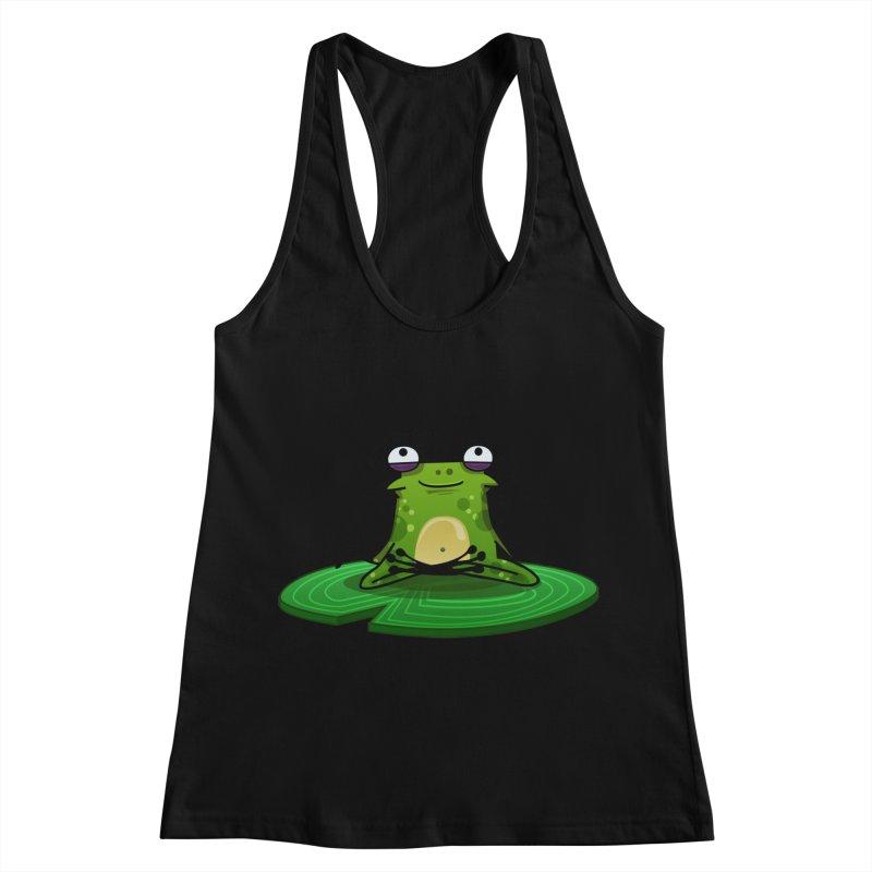 Sensei the Frog Women's Racerback Tank by mikibo's Shop