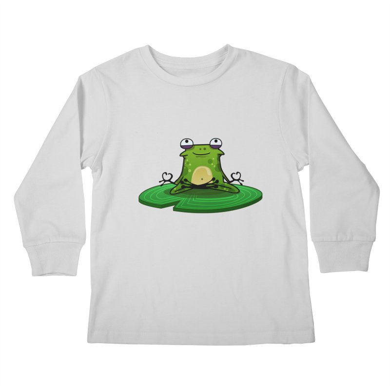 Sensei the Frog Kids Longsleeve T-Shirt by mikibo's Shop