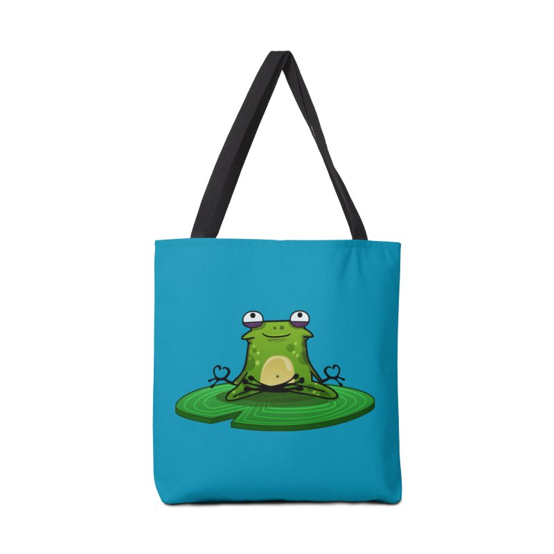 Sensei the Frog Accessories Tote Bag Bag by mikibo's Shop