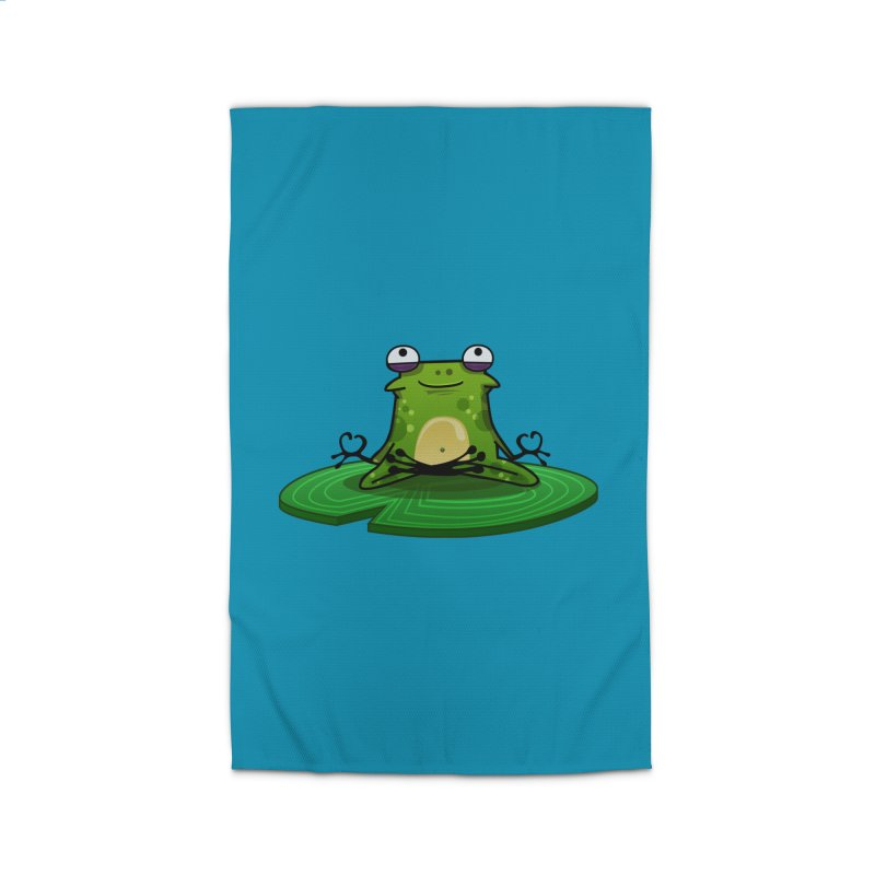 Sensei the Frog Home Rug by mikibo's Shop