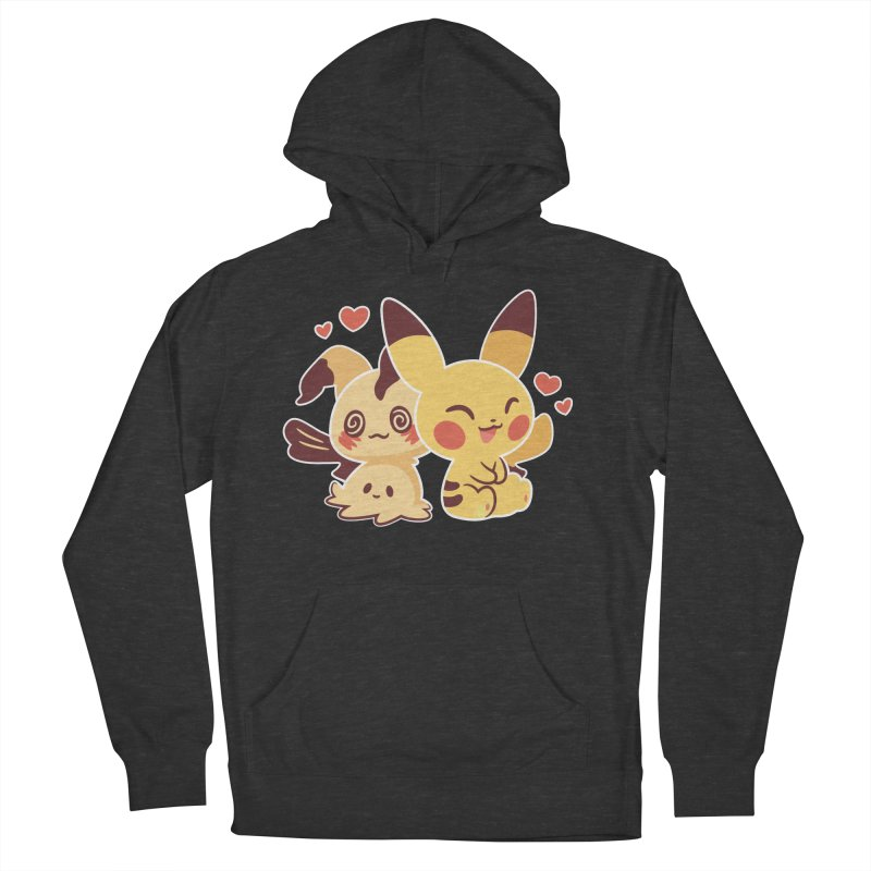 Best Friends Men's French Terry Pullover Hoody by ZombieMiki's Shirts & Stuff