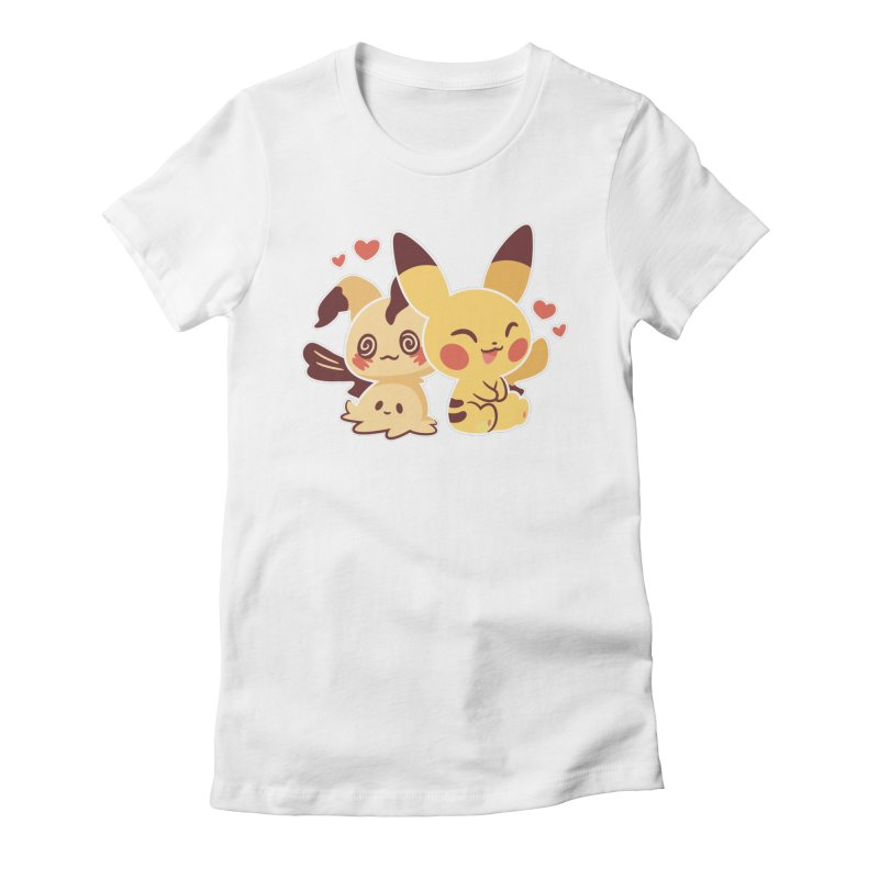 Best Friends Women's Fitted T-Shirt by ZombieMiki's Shirts & Stuff