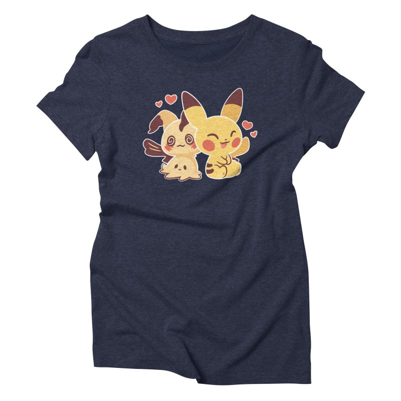 Best Friends Women's Triblend T-Shirt by ZombieMiki's Shirts & Stuff