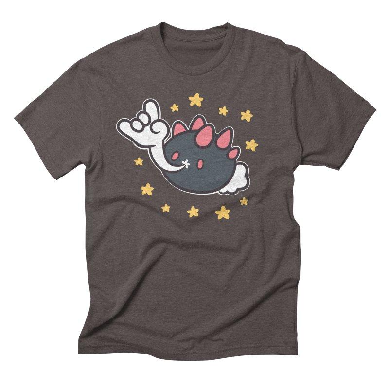 Devil Horns Men's Triblend T-Shirt by ZombieMiki's Shirts & Stuff