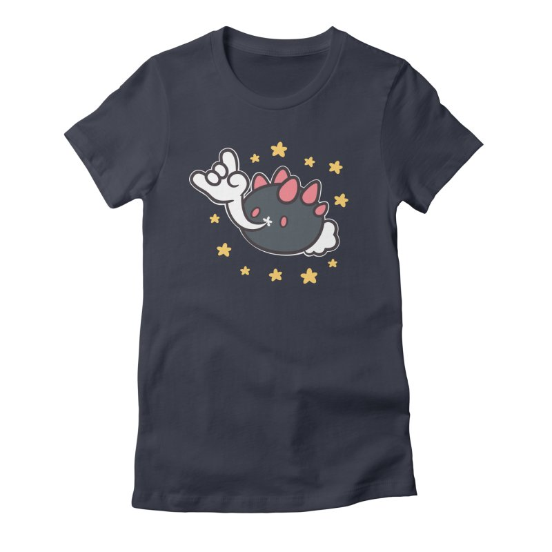 Devil Horns Women's T-Shirt by ZombieMiki's Shirts & Stuff