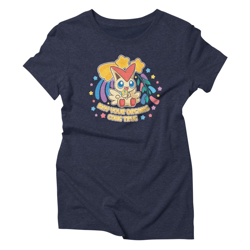 Dreams Come True Women's Triblend T-Shirt by ZombieMiki's Shirts & Stuff