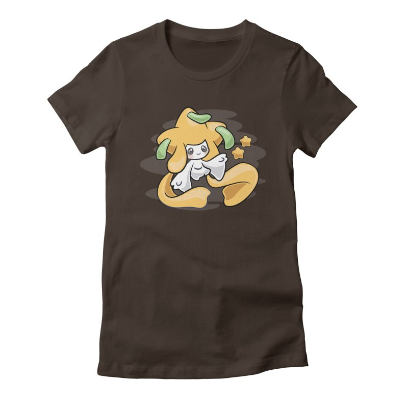 Starry Night Women's Fitted T-Shirt by ZombieMiki's Shirts & Stuff