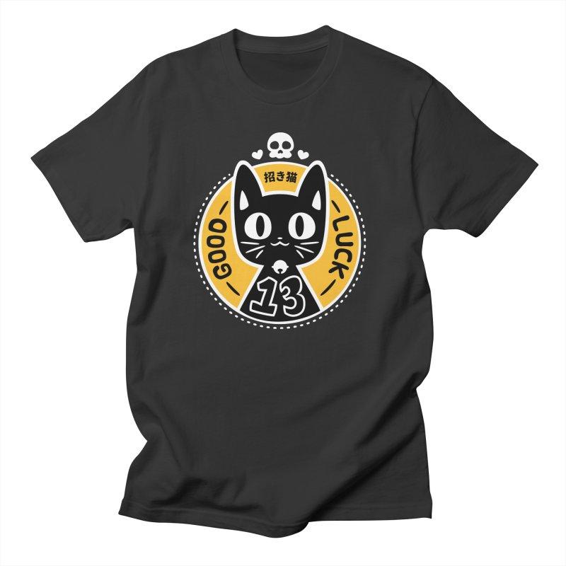 Black Cat Men's T-Shirt by ZombieMiki's Shirts & Stuff
