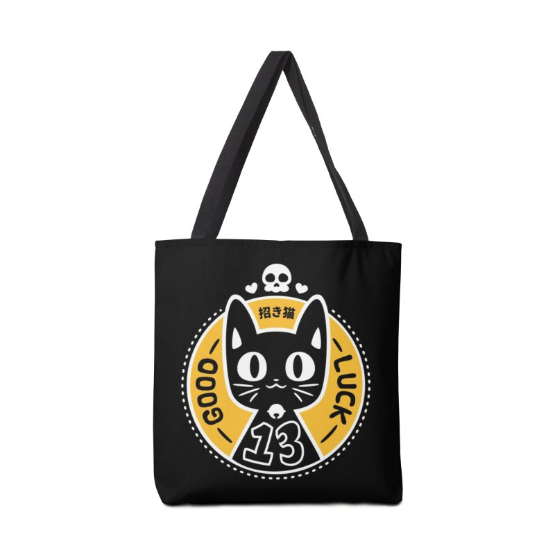 Black Cat Accessories Bag by ZombieMiki's Shirts & Stuff