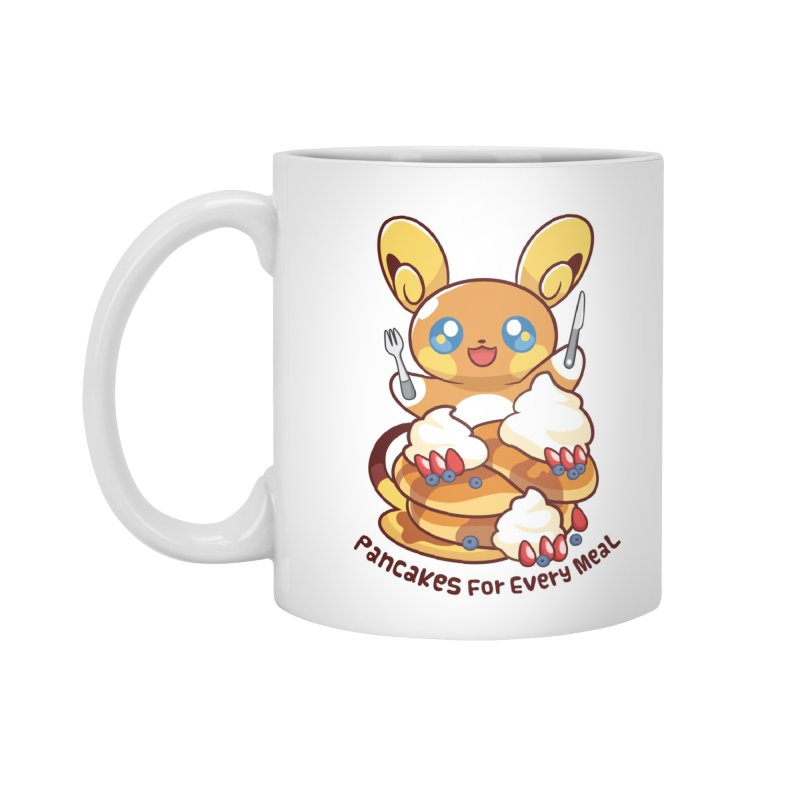 Pancakes For Every Meal Accessories Standard Mug by ZombieMiki's Shirts & Stuff