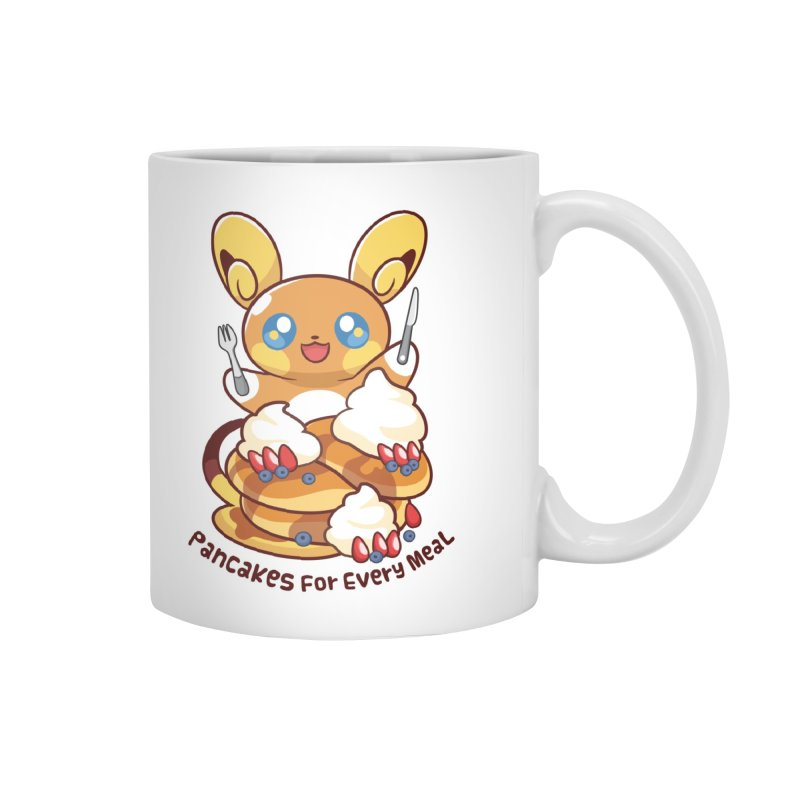 Pancakes For Every Meal Accessories Mug by ZombieMiki's Shirts & Stuff