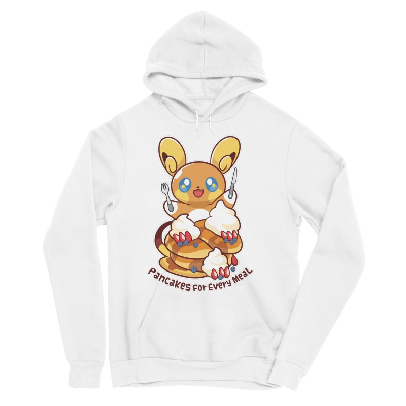 Pancakes For Every Meal Men's Pullover Hoody by ZombieMiki's Shirts & Stuff