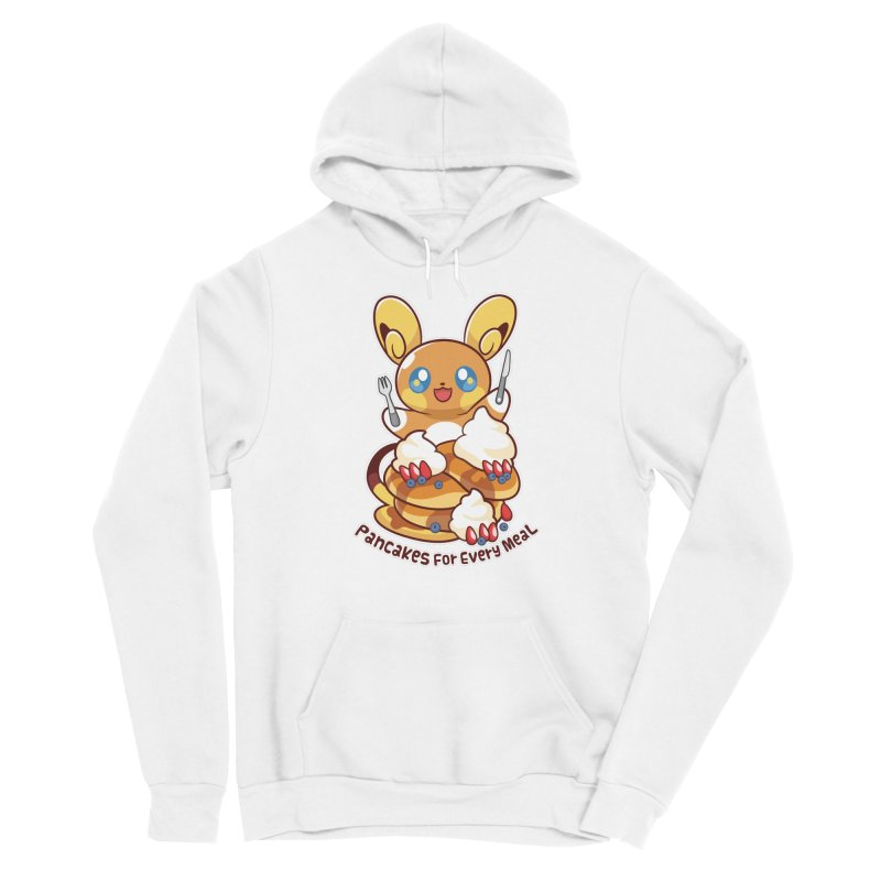 Pancakes For Every Meal Women's Pullover Hoody by ZombieMiki's Shirts & Stuff