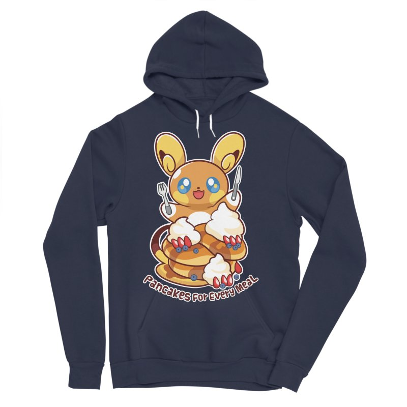 Pancakes For Every Meal Women's Sponge Fleece Pullover Hoody by ZombieMiki's Shirts & Stuff